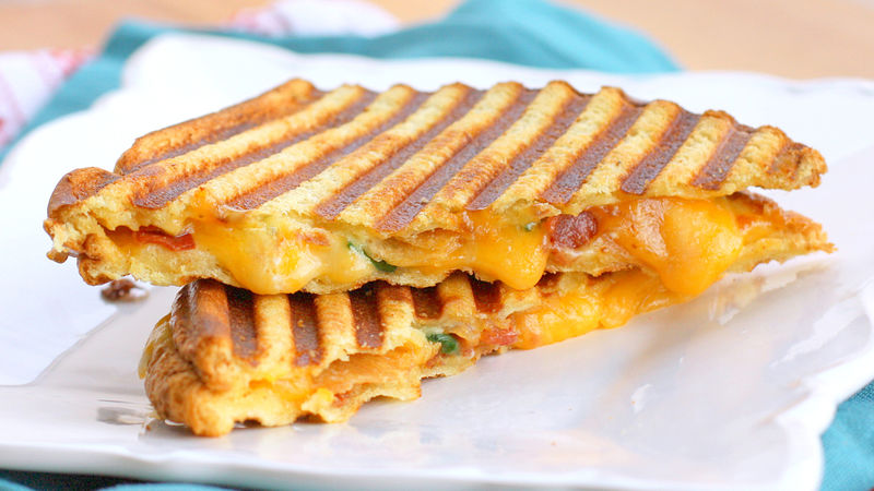 10. Grilled Cheese Sandwich