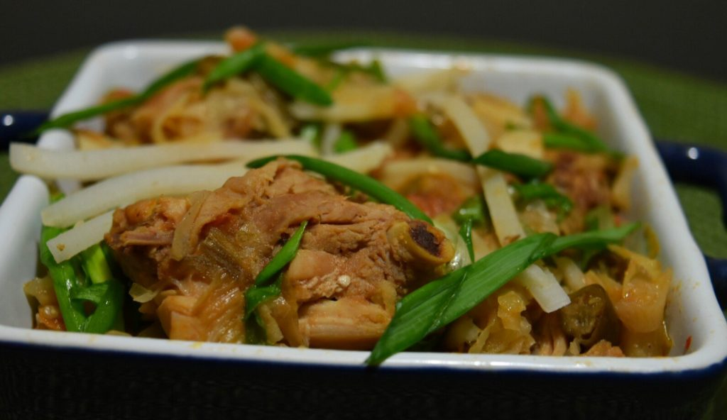 Fermented bamboo shoots, Axome