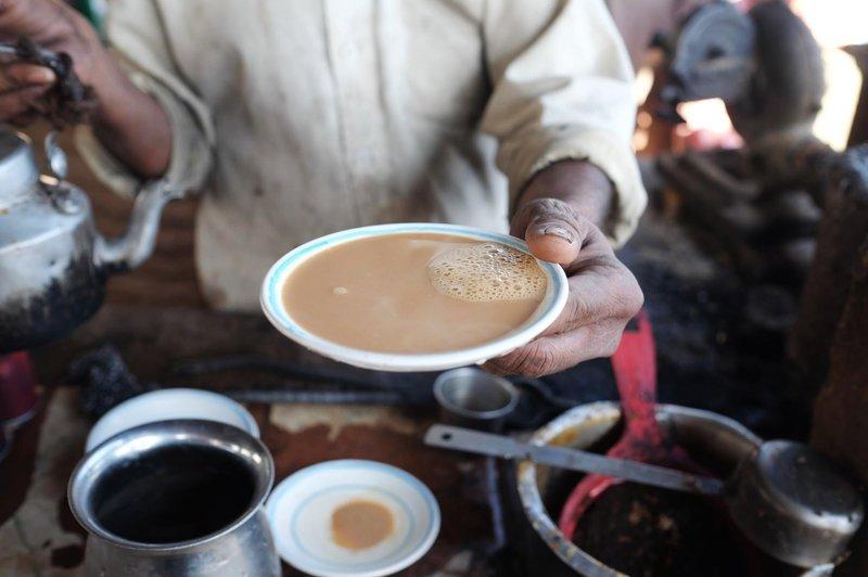 camel milk tea