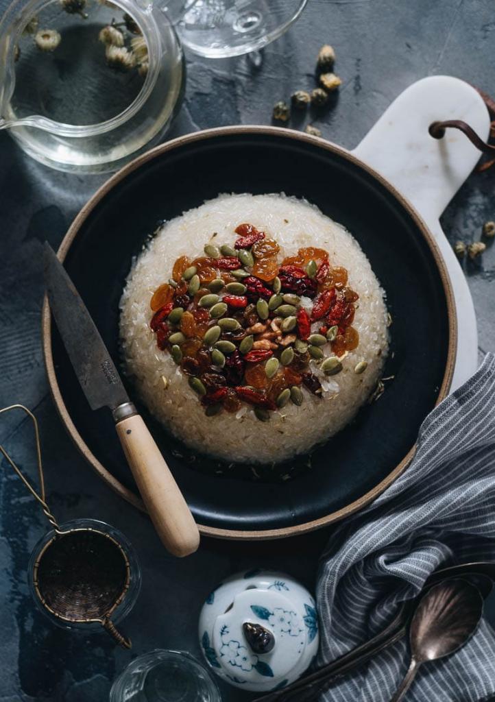Eight Treasures Rice pudding