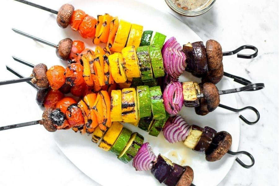 Rainbow Kebabs