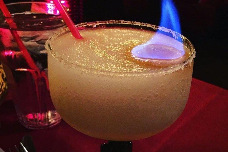 The Flaming Margarita