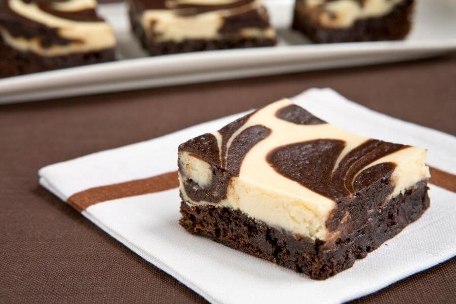 cream cheese brownie