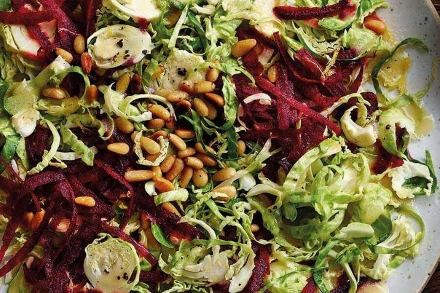 Mixed Sprouts Beetroot salad