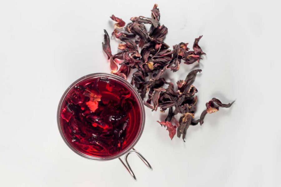 Honeydew Hibiscus Fruit Tisane