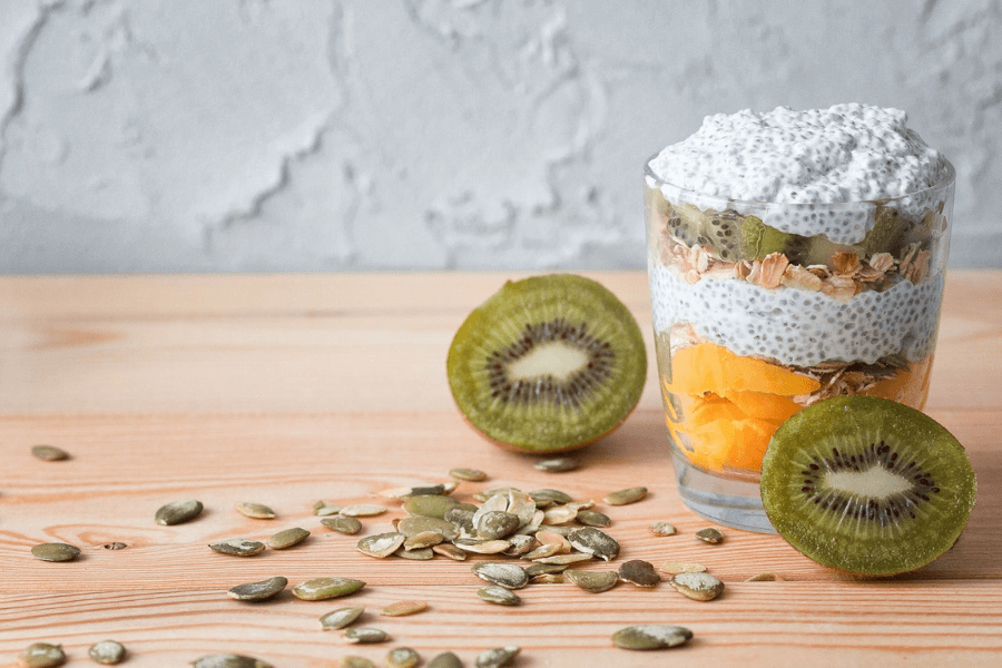 Fruit And Chia Nut Salad