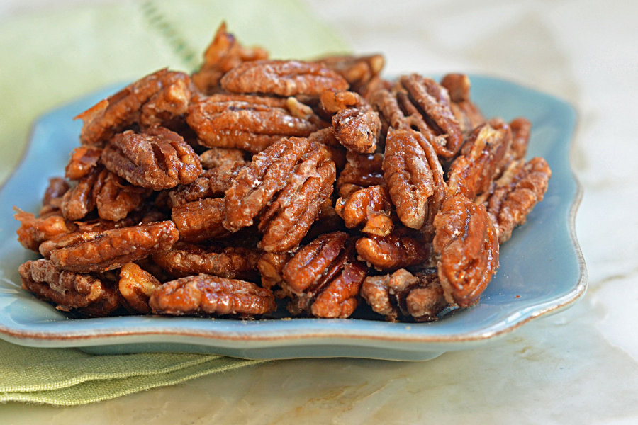 Sweet and Spicy nuts.