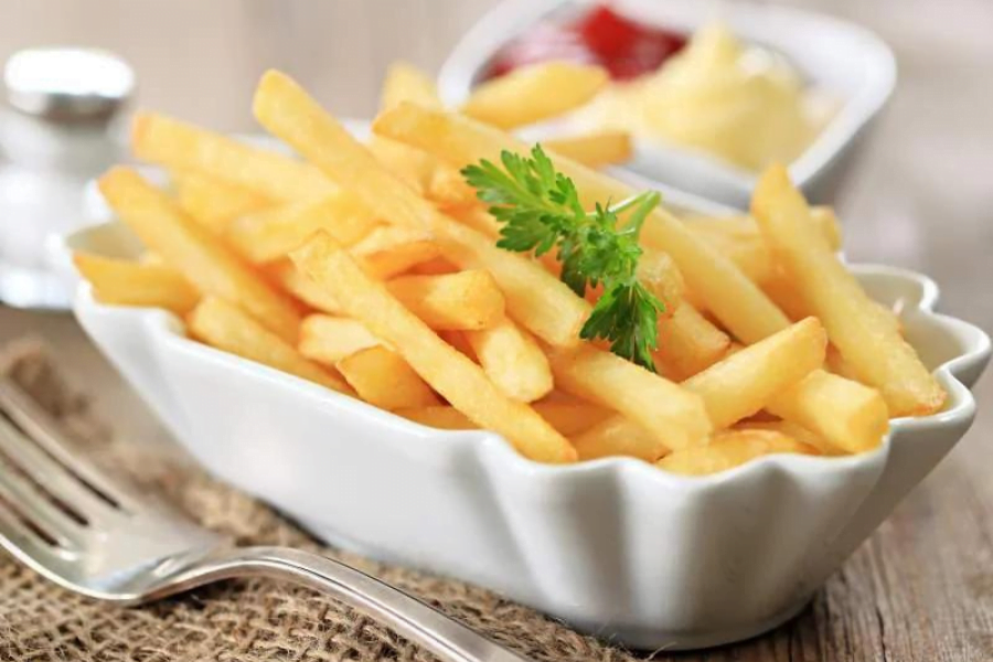Turning the junk food 'fries' into healthy food.